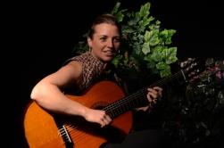 Virginie Begel, chanteuse, guitariste
